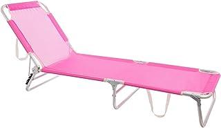 LOLAhome Tumbona Playa Cama de 3 pies de Aluminio y