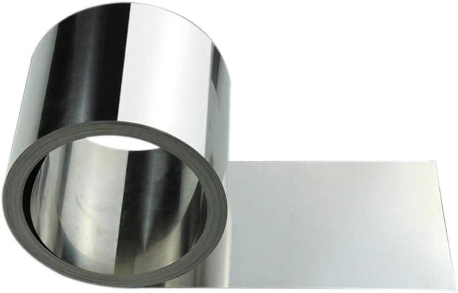 GOONSDS Hoja de Acero Inoxidable, Acero y Tiras de Placa Fina lámina de Trabajo del Metal de Soldadura y procesamiento de Artes Decorativas,Thickness 0.2mm