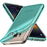Aeska Galaxy S8 Active Case, Ultra [Slim Thin] Flexible TPU Gel Rubber Soft Skin Silicone Protective Case Cover for Samsung Galaxy S8 Active (Mint)
