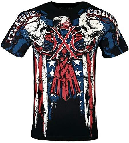 Xtreme Couture by Affliction Men T-Shirt Couture Patriot (S) Black