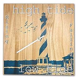 OldBleu Tide Clock Timer - Handmade - Lighthouse