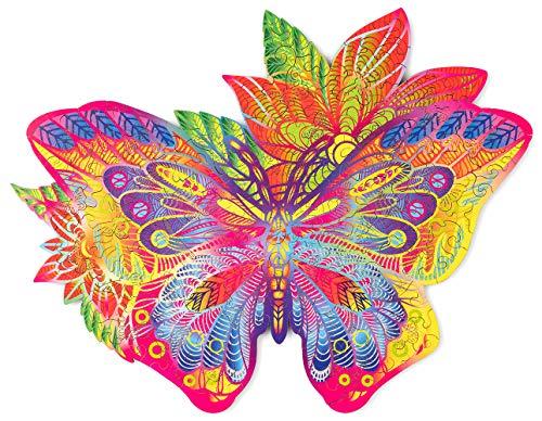 Wood Trick - Mariposa Joya - Puzzle Madera - Rompecabezas Adultos - Ensamblaje sin Pegamento