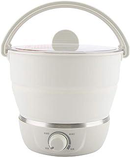 FTVOGUE Cocina portátil Multifuncional 110-240V del Viaje del hogar del pote de Caldron Olla eléctrica(02)