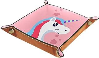 Desheze Licorne Mignonne (46) Boîte de Rangement Pliable Stockage Boîte Maquillage Bijoux Jouets Papeterie Organisateur Pe...