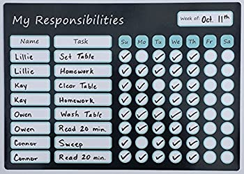 LillieKay Designs Chore Charts for Kids with Marker
