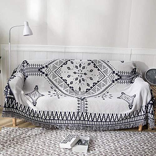 RAQ Gebreide bank deken met draad gooien dekens voor bed kantoor reizen bank handdoek sprei comfortabele muur tapijt 180x260cm