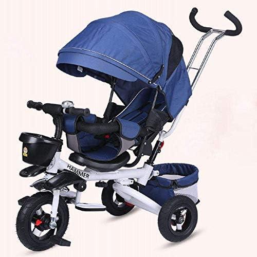 Daxiong Multifunktions-faltendes Baby-Kind-Dreirad-stützender Kinderwagen-Fahrrad-Fahrrad