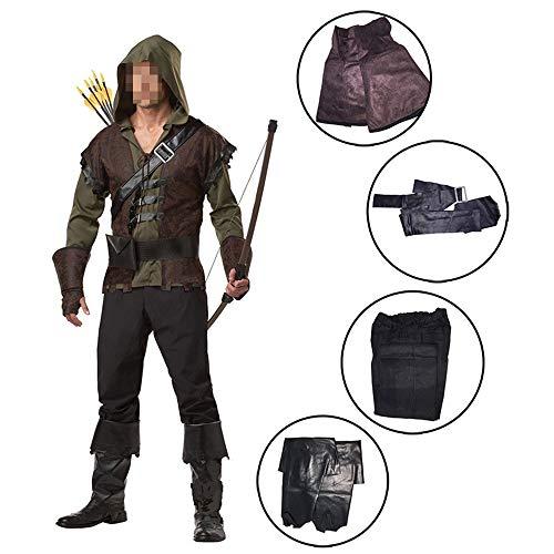 kMOoz Disfraz De Halloween,Disfraz De para Niña Halloween Disfraz Vestido Halloween Cosplay,Disfraz De Halloween Green Arrow Cosplay Disfraz Hero Robin Hood Cosplay