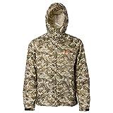 Grundéns Weather Watch Hooded Fishing Jacket, Refraction Camo Stone - 3X-Large