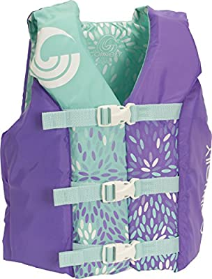 """CWB Connelly Youth Nylon Vest, 24""""-29"""" Chest; 50-90Lbs, Girl Tunnel"""