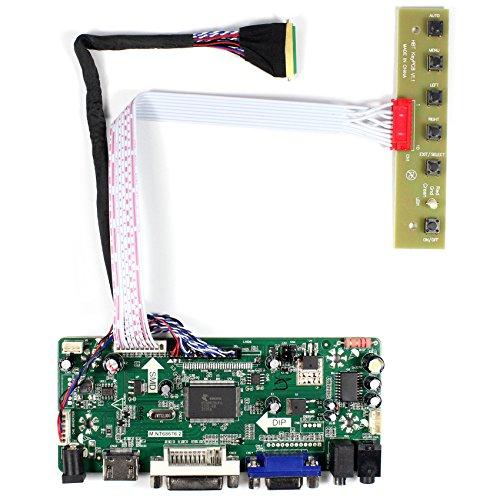HDMI + VGA + DVI + Audioeingang LCD-Controller-Karte für LP173WD1 N173FGE 15,6