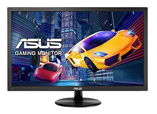 Asus VP248QG 61 cm (24 Zoll) Gaming Monitor (Full HD, VGA, HDMI, DisplayPort, 75Hz, 1ms Reaktionszeit, Adaptive-Sync) schwarz