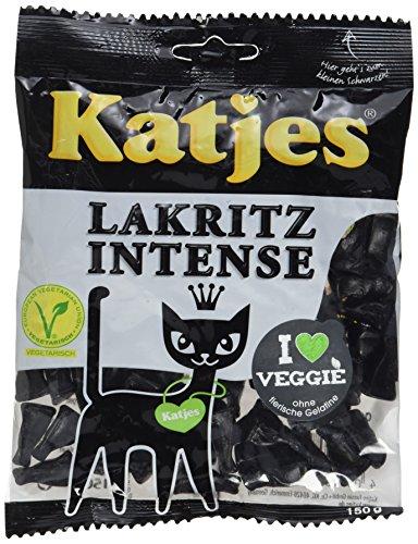 Katjes -   Lakritz Intense (1