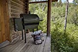 Camp Chef PG24DLX Deluxe Pellet Grill and Smoker BBQ with Digital Controls and Stainless Temp Probe & Traeger PEL319 Hickory 100% All-Natural Hardwood Grill Pellets