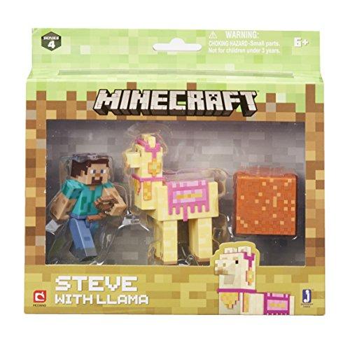 Minecraft 16602Steve con Llama Figura