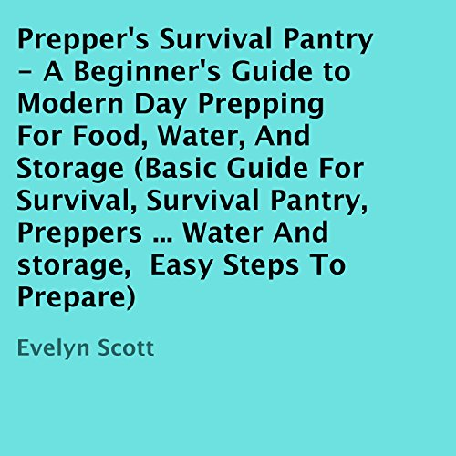 Prepper's Survival Pantry audiobook cover art