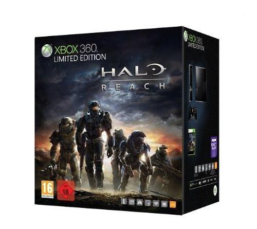 Console Xbox 360 250 Go + Halo Reach