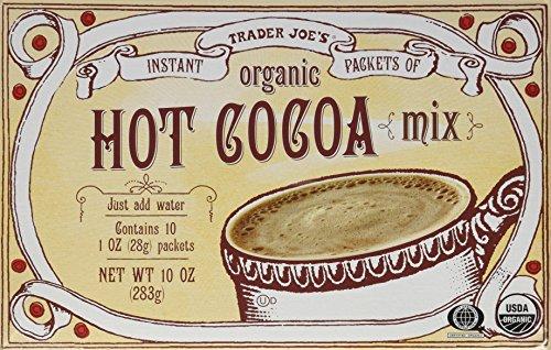 Trader Joe's Organic Hot Cocoa Mix 10 oz Instant Packets (2 Boxes)