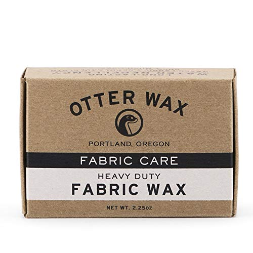 Otter Wax Fabric & Canvas Wax | Regular Bar | All-Natural Water...