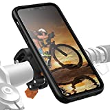 Morpheus M4s iPhone 11 Fahrradhalterung - Handyhalterung Fahrrad iPhone 11 - Halterung & iPhone 11 Hülle magnetisch fürs Rad, DropTest, mit Quick Lock, Bike Kit passend für meisten Lenker schwarz