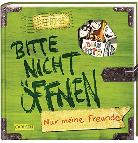 Bitte nicht öffnen: Nur meine Freunde (Freundebuch): Ein Eintragebuch für Kinder ab 8 Jahren
