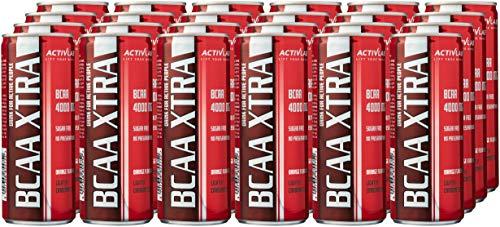 Activlab BCAA Xtra Drink, Orange, 250 ml, Pack of 24