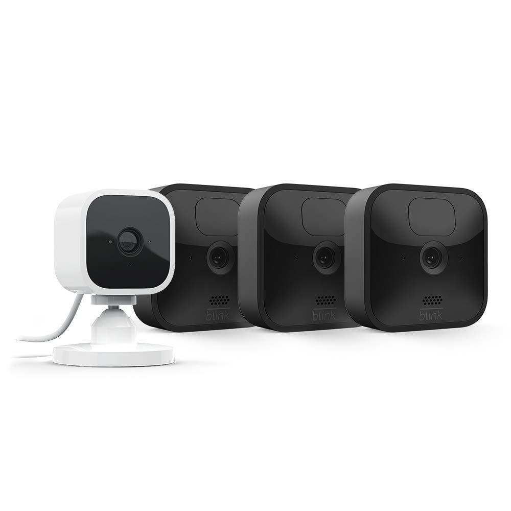 Blink Outdoor, Kit 3 caméras + Blink Mini