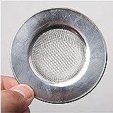 RoxTop Fregadero colador para la Ducha Desagüe de Pelo Catcher baño o en la Cocina fregaderos de Acero Inoxidable Fregadero Escurrir 7.5cm