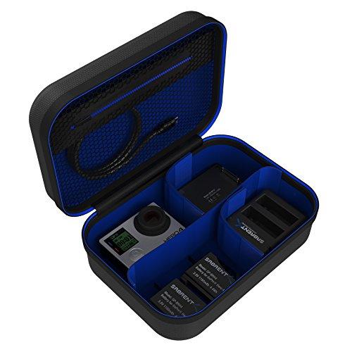 Sabrent Funda de Viaje Universal para GoPro o pequeños Productos electrónicos y Accesorios [Pequeño] (GP-CSSL)