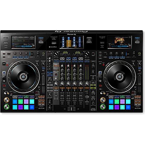 """PIONEER DDJ-RZX CONSOLLE DJ 4 CANALI REKORDBOX DJ E REKORDBOX VIDEO USB SCHERMI 7"""""""