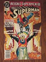 The reign of the supermen! Superman Things are Booming in Coast City 1993 22 80 Aug 93