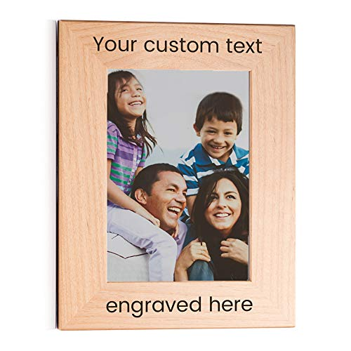 """Amazon.com - Lifetime Creations Create Your Own Personalized Picture Frame: Engraved Custom Picture Frame (5"""" x 7"""" Portrait) -"""