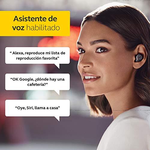 Jabra Elite 75t - Auriculares Bluetooth con Cancelación Activa de Ruido y batería de larga duración, Llamadas y música verdaderamente inalámbricas - Negro Titanio
