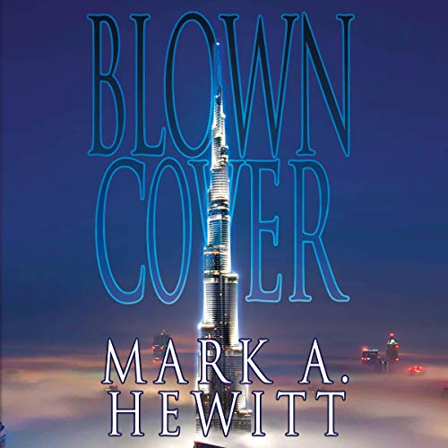 Blown Cover audiobook cover art