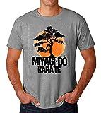 Miyagi Do Jo Inspired by Karate Kid Cobra Kai Men's T-Shirt Hombre Camiseta Large