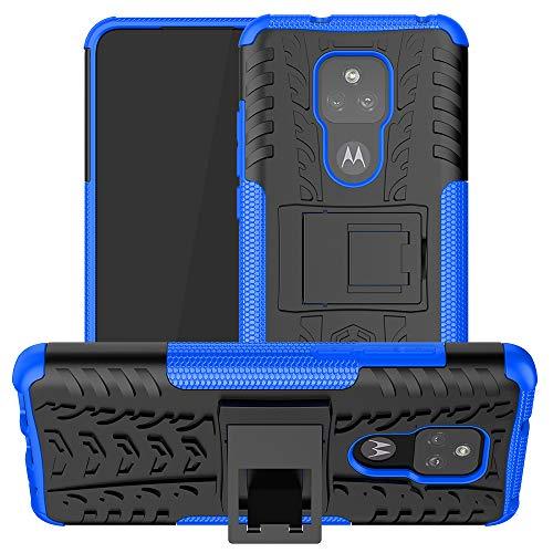 Funda -Mi 11, Carcasa -Mi 11 con Tough Armor Series Robusta Armadura Híbrida TPU+PC y Funda Bumper Case Cover Funda para -Mi 11, Azul