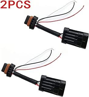 ALLMOST 2PCS For Polaris RZR Tail Light Power Harness Whip Brake Light License Plate 15-18