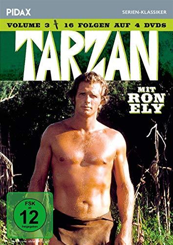 Tarzan, Vol. 3 / Weitere 16 Folgen der Kultserie mit Ron Ely (Pidax Serien-Klassiker) [4 DVDs]