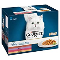 Country medley multipack contains delicious recipes in jelly with turkey, trout, duck and game 100% complete and balanced nutrition for adult cats A delicious variety of recipes with high quality ingredients, gently cooked and served in jelly Served ...