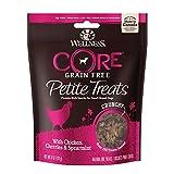 Wellness Petite Treats pequeño Perro Raza sin Grano Treats, 6-Ounce Bolsa