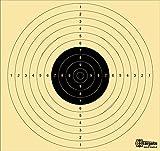 Grandes * estándar Target XLS */54x 52cm/1500mm itzt/Tiro Scheibe cartón 200g/m², 20 unidades