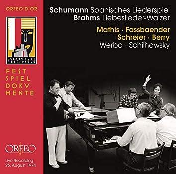 Schumann: Spanisches Liederspiel, Op. 74 - Brahms: 18 Liebeslieder Waltzes, Op. 52 (Live)