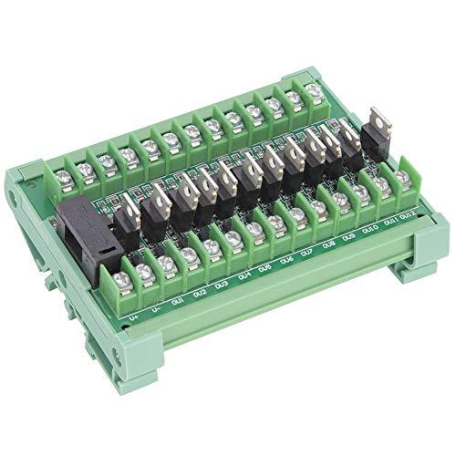 12-Channel PLC Signal Amplifier Board Module Isolation Relay Module NPN Input PNP Output DC12-36V