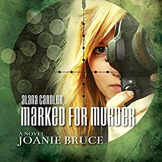 Alana Candler, Marked for Murder audiobook cover art