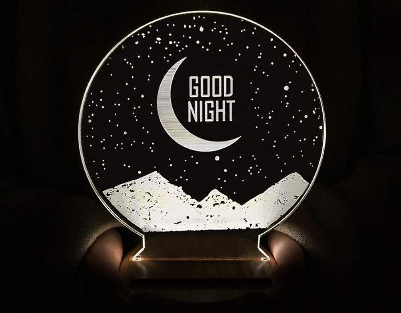 Sjsjj Multifunktionales 3D-Nachtlicht zum Schlafen, D, 200  120  40mm