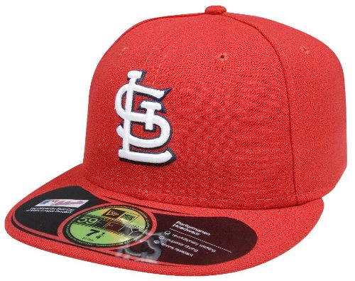New Era MLB St. Louis Cardinals Authentic On Field Game 59Fifty Cap, 7 1/8