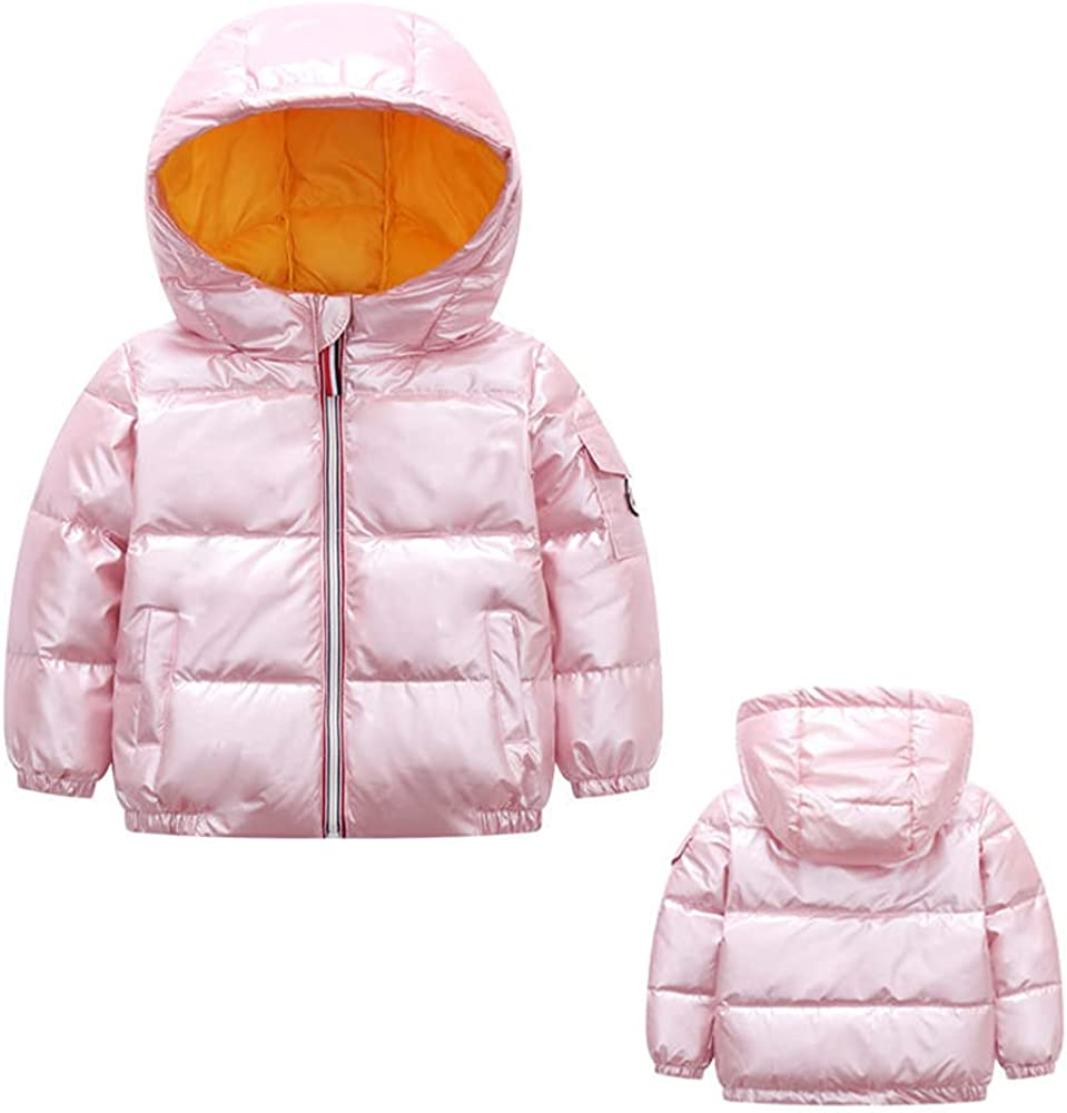 Selling and selling WXHCOS Boys winter Hooded Down Cotton-Padded Jacksonville Mall Thick Parka Jacket