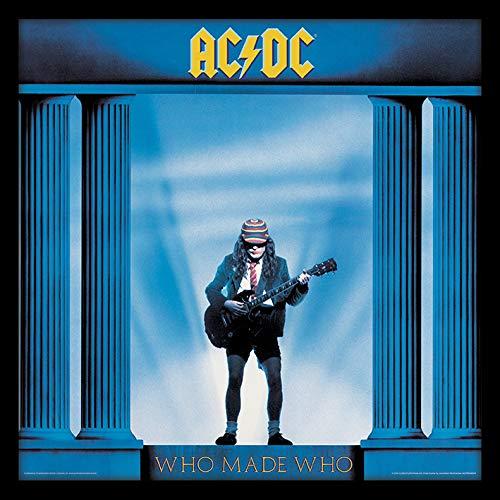 AC/DC ACPPR48074-PL Made Who Objet Souvenir, Multicolore, 31,5 x 31,5 cm
