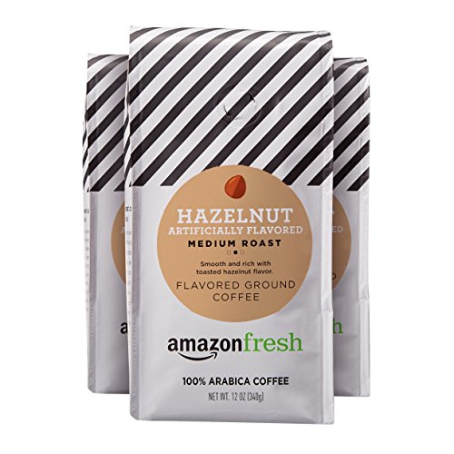 Amazon Fresh Hazelnut Flavored Coffee