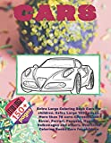 Extra Large Coloring Book Cars for children. Extra Large 150+ pages. More than 70 cars: Citroen, Land Rover, Ferrari, Peugeot, Hyundai, Volkswagen and ... Large Coloring Book for young boys Ages 6-12)